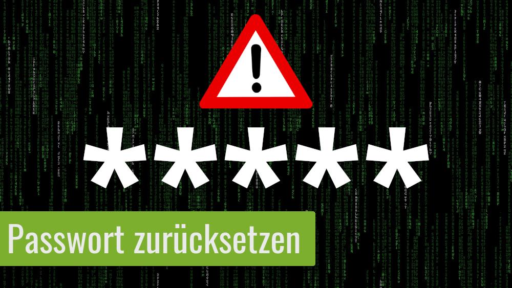 PASSWORT ZURÜCKSETZEN – So geht's unter Linux