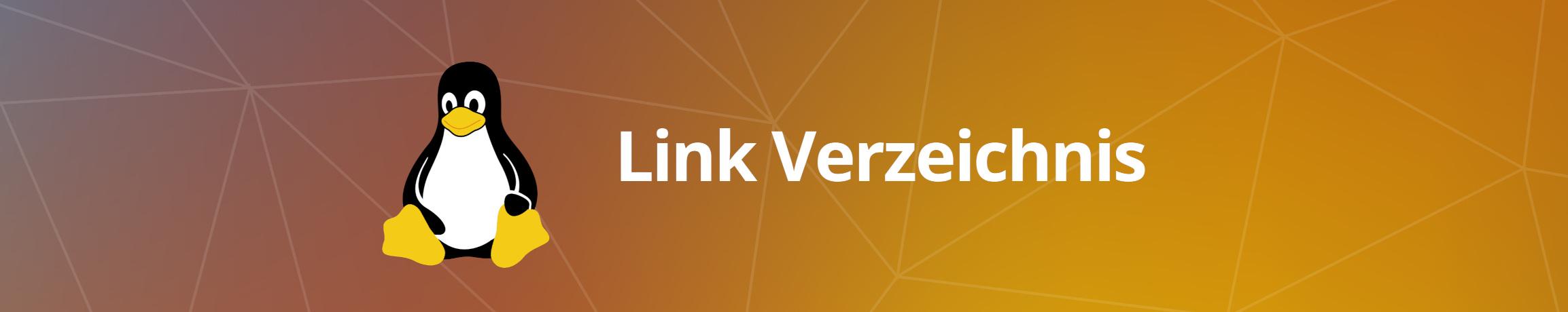 Linux Link Verzeichnis Überschrift