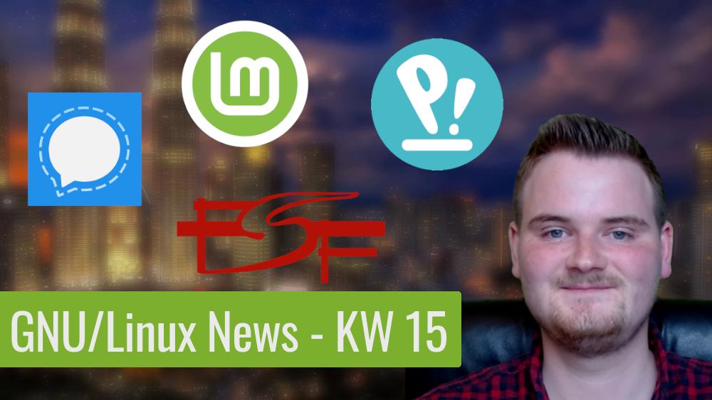 Read more about the article Ein neuer Desktop wird geboren – GNU/Linux News – KW 15
