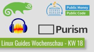 Read more about the article Audacity wird aufgekauft und sofort geforkt – Linux Guides Wochenschau KW 18